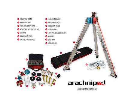 Arachnipod Rescue Plus Kit
